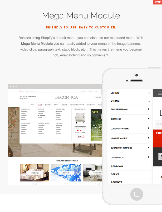 Decortica Responsive Shopify Theme
