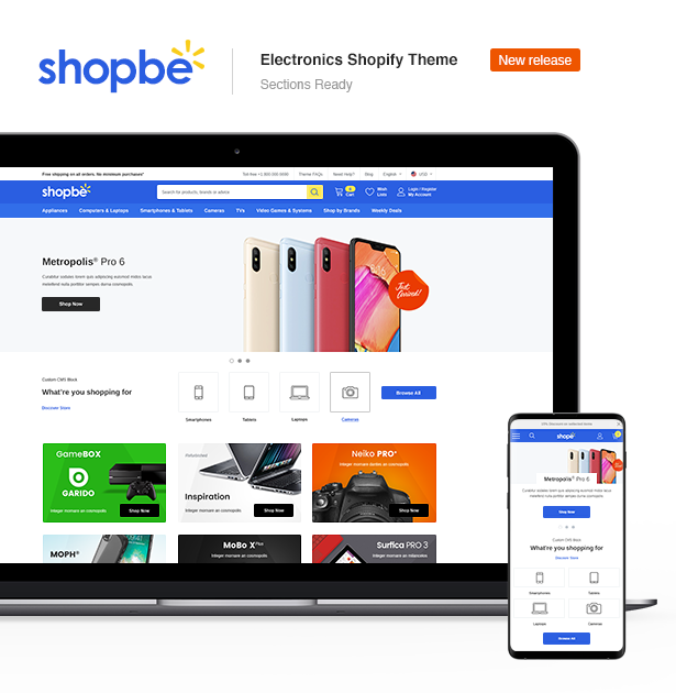Ella - Multipurpose Shopify Sections Theme - 7